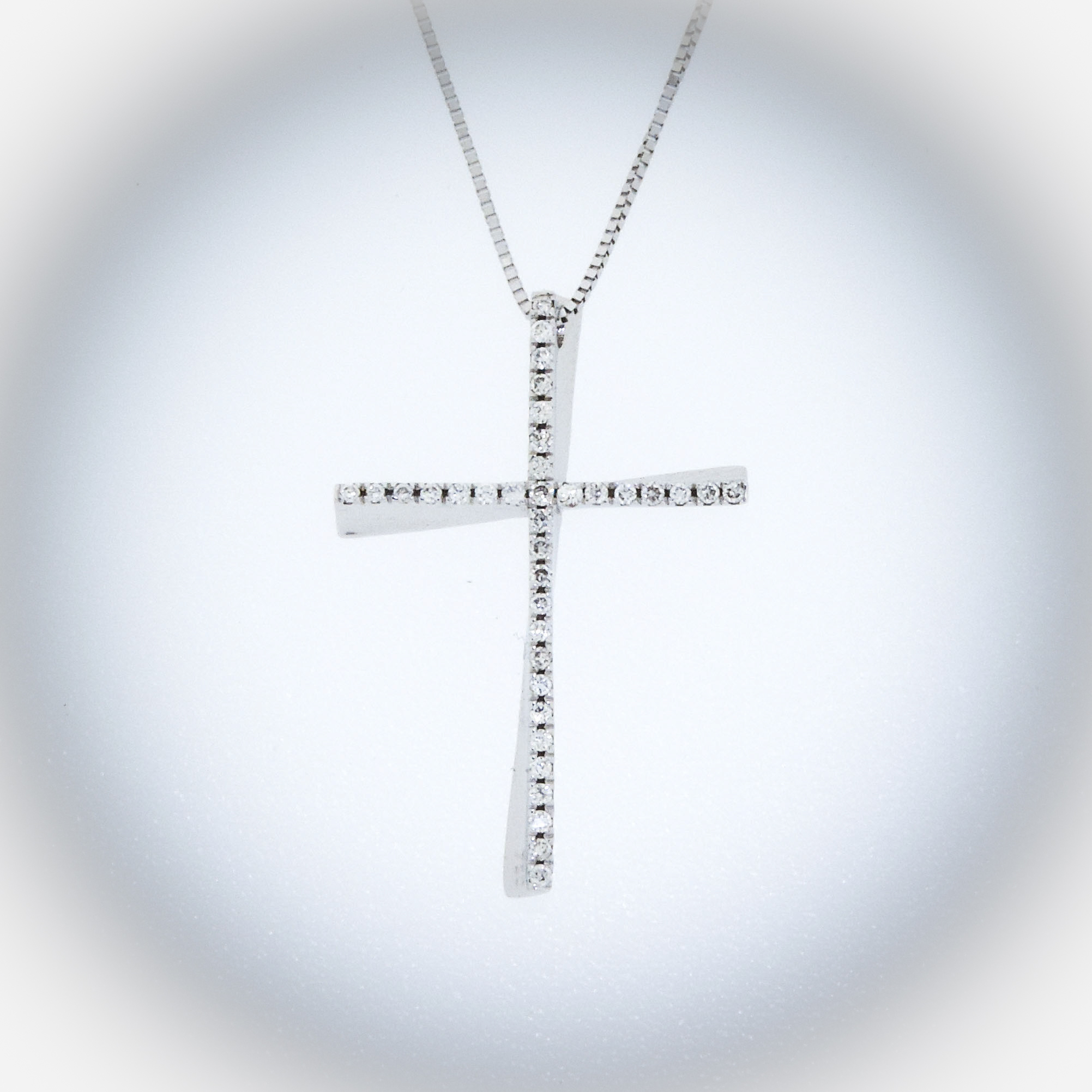 pendant expertissim medal baptism and gold chain cross